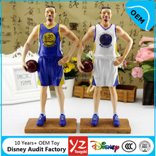 Custom Sports Figurines, Sports Player Figurines, Basket Ball Figurines OEM China Manufacturer