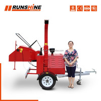 Weifang Runsing Machinery Co., Ltd CE approved DWC series wood chips log making machine