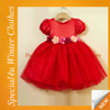 Latest dress designs red kids party wear dresses for girls wholesale baby dress SHY-005