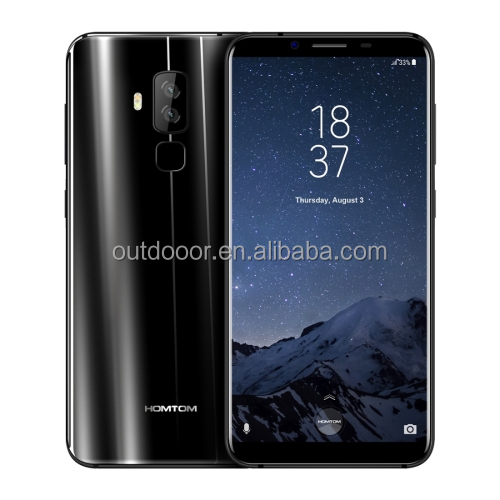Dropshipping Newest smartphone HOMTOM S8, 4GB RAM 64GB ROM 5.7 inch 2.5D Android 7.0 HOMTOM smart phone 2G 3G 4G