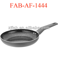 10'' Shining Bottom Non-stick Aluminum White Smart Ceramic Fry Pan