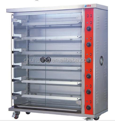 6-rob commercial chicken rotisserie, grill chicken electric oven