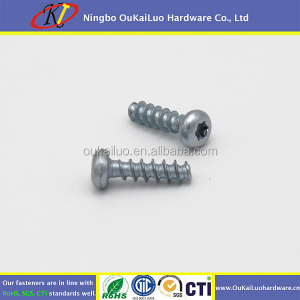 Hardened Steel Torx Head Thread Forming Screws for Plastic