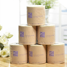 Virgin Bamboo Pulp Hygienic Bathroom Core Paper Roll Toilet Tissue