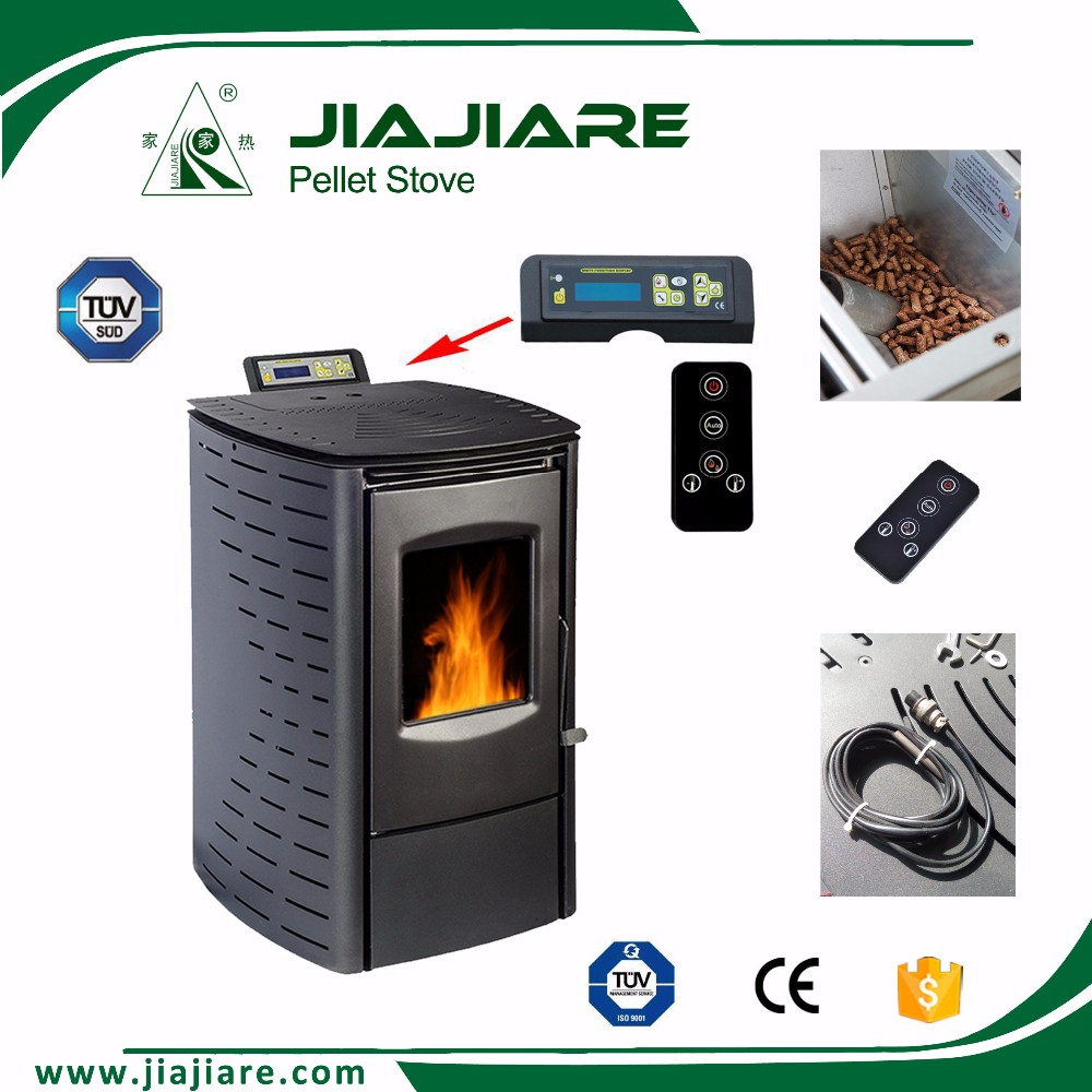 High quality indoor central heating stove, wood pellet fireplace igniter