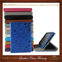 Good quality Luxury business leather case for ipad air 2 cover case