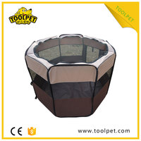 Collapsible Light weight Soft pet playpen with strong steel frame