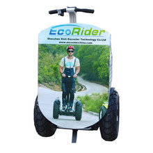 Advertising Board Electric Chariot Scooter With Lithium Battery 72v 8.8Ah Brsuhless, Two Wheel self balancing Electric Scooter