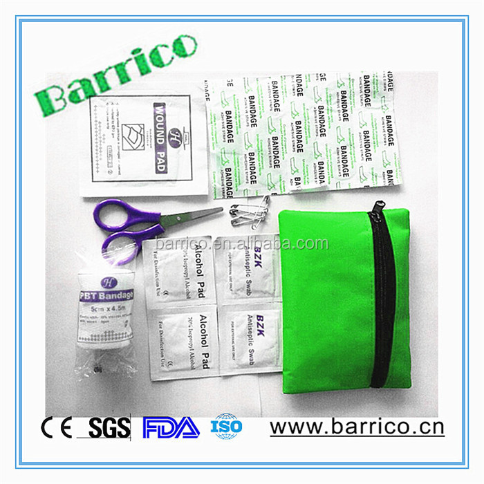 Small Injury First Aid Medical Promotion Kit BLG-86 CE/FDA/MSDS