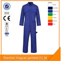 100%cotton fire resistant Heat Proof Coverall in natural gas,oil field power industry