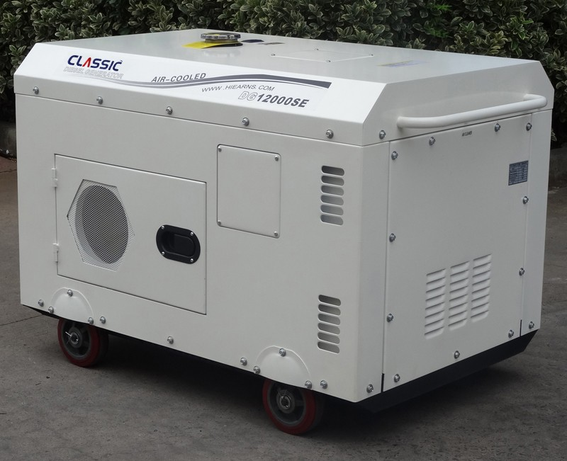 BISON(CHINA) Silent Diesel Generator set 8.5 kw, Diesel Generator for market sale