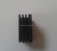 Customized all shaped large solid EPDM/silicone rubber damping block/rubber shock absorber buffer