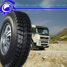 Extra deep pattern good grasping performance chinese truck tire used in germany