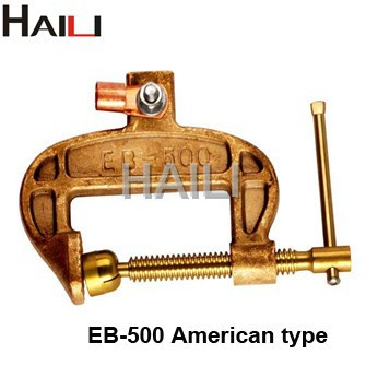 American type 500A welding ground clamp/earth rod clamp EB-500