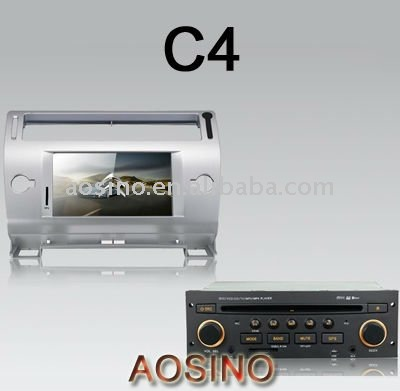 car gps/special car dvd player CITROEN C4