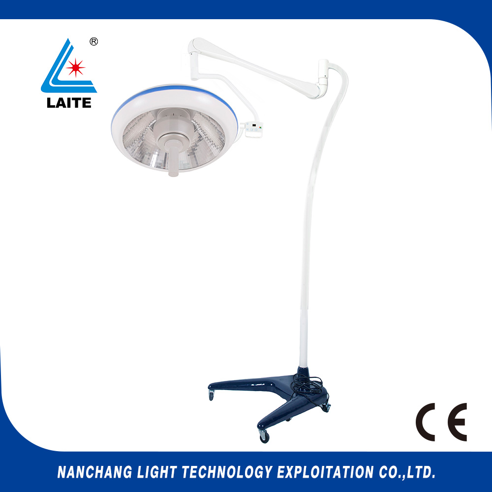 Standing surgical movable hospital led shadowless operating lamp