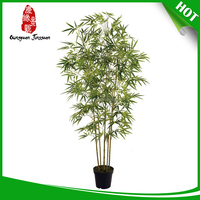 whole sale artificial bamboo / artificial bamboo bonsai / plastic bamboo leaves