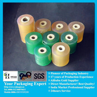 pvc soft stretch protective blue roll films from China manufacturer