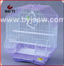 Small Folding Stacked Wire Bird Cage for Weddings