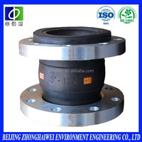 galvanized flange jgd rubber concentric expansion joints for pipeline