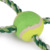 New Design Dog Toys Dog Cotton Rope Chew Toys WithTennis Ball Rope Tug and Toss Toym Pet Toys