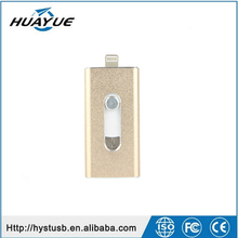 2016 Newest OTG USB Flash Drive for iPhone iPad 8G 16G 32G 64GB usb sticks for Apple Smart Phone