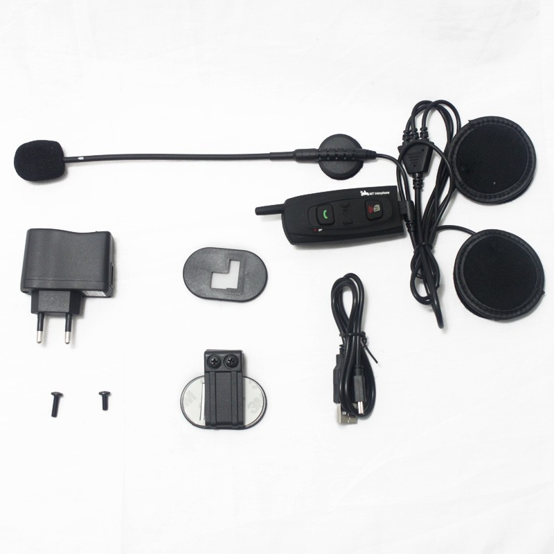 Ejeas V2-1200 for 2 riders Motorcycle accessories wireless helmet headset motorbike communication intercom