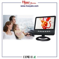 Built-in Battery 9 Portable TV 12v dc LED TV Small Size Television