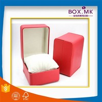 Cheap Good Quality Hot Sell New Design PU Leather Red Packaging Box Watch