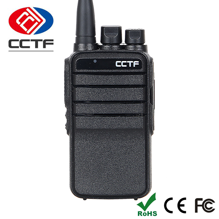 Supporting two major standards 400-470MHz police intercom interphone with CE
