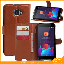2016 newest pu leather cases for alcatel idol 4s phone case tablet case suppliers