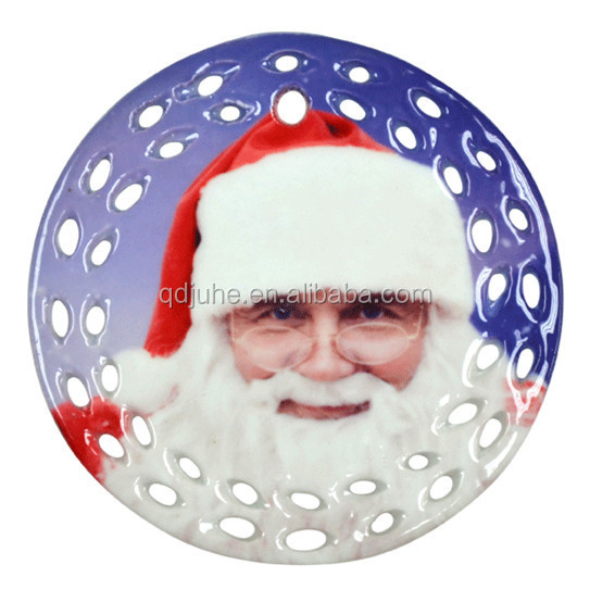 Sublimation Ceramic pendant Christmas decorations