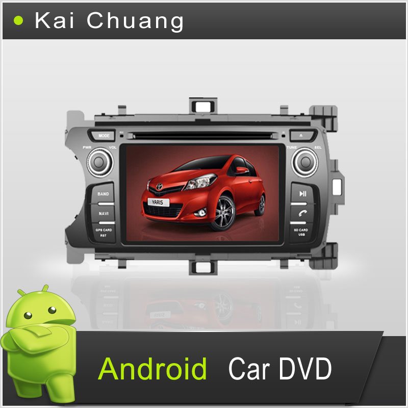 7inch 2din Toyota Yaris Android DVD with GPS,Radio,Ipod