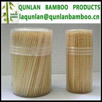 Difference packaging bamboo toothpick