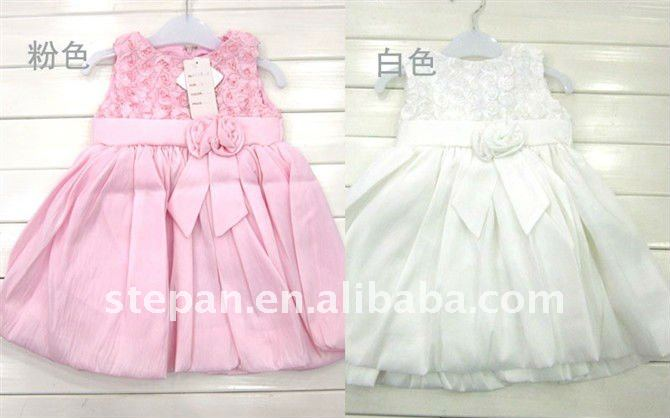 2011 New Design Girl Dress,Formal Evening Dress For Party,Summer Dress For Kids/Children TZ88-2010