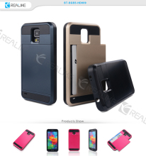 Fancy pc tpu hybrid cell phone back cover case for samsung galaxy s5