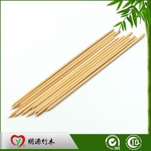 Grilled bbq big bamboo stick