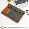 Supplying High Quality and Simple Style Felt Laptop Case with leather edge from China