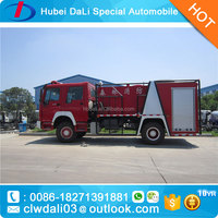 HOWO 4X2 12MT fire fighting water monitor/forest fire tank truck