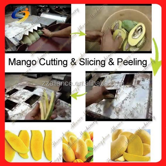 manufactory price food industry mango cutting machines