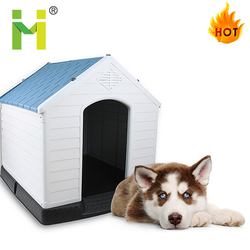 luxury PP dog house outdoor large pet cages nest dog kenne lfor sale for dog run fence panels
