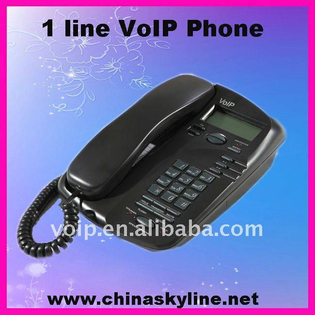 wholesale voip phone/ pc free skype phone rj45