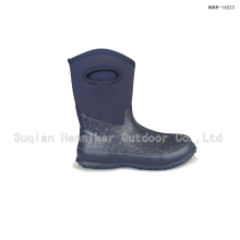 10'' Women's Mid-cut Waterproof Flower Pattern Fashion Boot