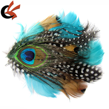headband factory supply feather pads feather fascinator headband