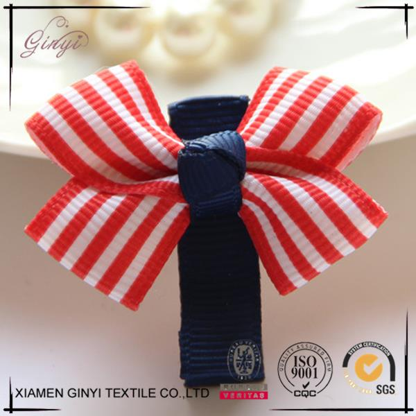 Top sale cheap colorful fashion lovely hair bow clips