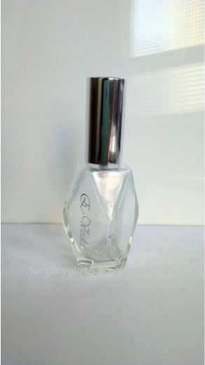 Perfume Bottle Design 15ml Diamond Perfume Bottle