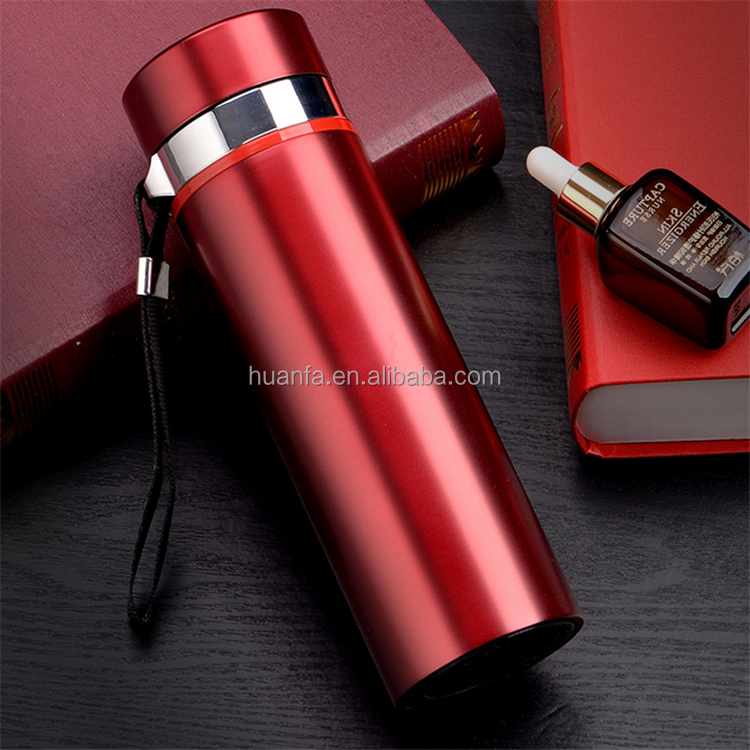450ML 16OZ Double Wall Stainless Steel Travel Mug Tea Water Coffee Bottle Flask Vacuum Thermos Cup