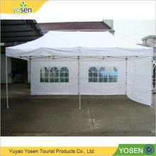 China OEM outdoor 2015 stretch indoor wedding 6x3m folding gazebo