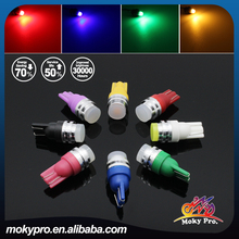 T10 1W 3D light bulb with lens for auto motorcycle