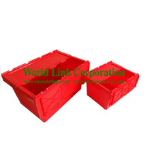 Household And Office Storage Moving Plastic Attach Lid Box